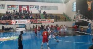 BasketBall-17h00- ES-Radès-Tunisie-vs Libolo-Angola-en Finale du CACC-Tunis-2014- Tunisie-tribune