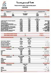 Bourse de Tunis 19-12-2014 - 600