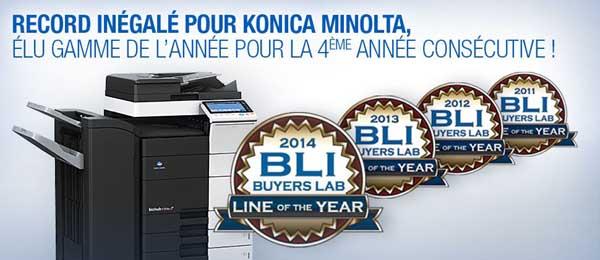- Konica Minolta élu Gamme de l'année pour la 4ème année consécutive - Tunisie-Tribune -600