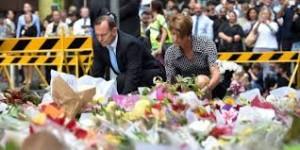 Tony Abbott-Sydney-issue meurtrière de la prise d'otages-3 morts-dont le terroriste-et 6 blessés