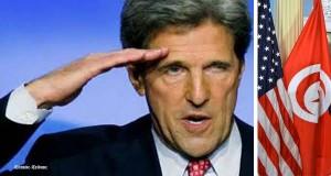 - USA-Tunisia's Presidential Election-John Kerry-USA-félicite le peuple tunisien et parle de moment historique