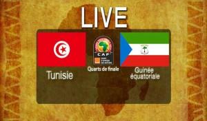 CAN 2015 (14 de finale)  Tunisie–Guinée Équatoriale