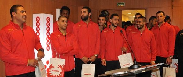 Conformément à son positionnement citoyen-Ooredoo Tunisie dit-Bon vent-à l'équipe Nationale de Handball-600