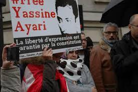- Tunisie-ARTICLE 19 appelle à la libération du blogueur Yassine Ayari-condamné pour diffamation de l'armée nationale 2