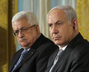 benjamin-netanyahu-mahmoud-abbas - Tunisie-Tribune