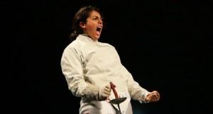 - Buenos Aires-Sarra Besbes-Tunisie-médaille d'or au championnat du monde d'escrime