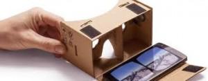 LG G3 & Google Cardboard permettent l'accès au quotidien de la réalité virtuelle pour mobile