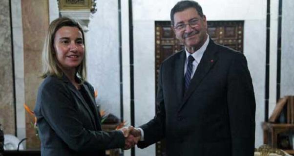- UE-Federica Mogherini à Tunis pour soutenir les réformes et renforcer le Partenariat privilégié UE-Tunisie-b