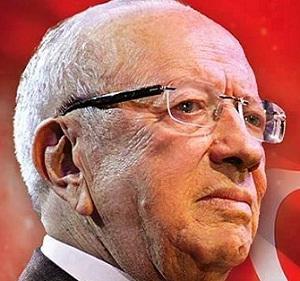 -Au cours d'une courte et belle cérémonie de passation-Marzouki quitte Carthage après avoir salué le président élu Essebsi