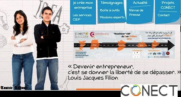 - Coaching entrepreneurial-les Caravanes-Road Show CIEP- seront à Siliana-au Kef-Kasserine-Gafsa-Tozeur