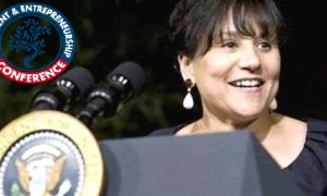 - Penny Pritzker, la Secrétaire au Commerce américain à la conférence sur l'investissement et l'entrepreneuriat