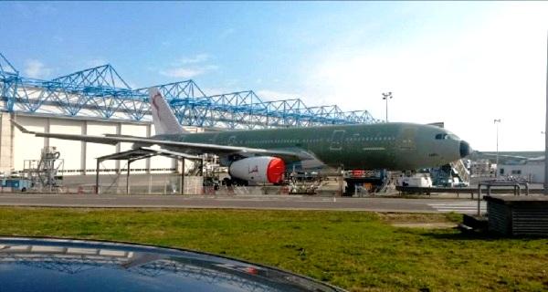 - Tunisair-Immatriculé  TS-IFM-le premier gros porteur Airbus A330 sera à Tunis en mai-le 2ème en juin-B