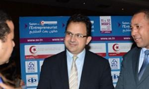 Zied Laadhari-salon de l'entreprnriat-Tunisie-Tribune-400