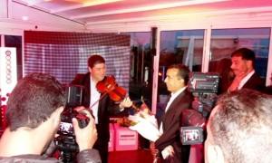 - Inauguration de l'Ooredoo Média Club qui rendit un hommage émouvant au grand photographe de presse Habib HMIMA - 5