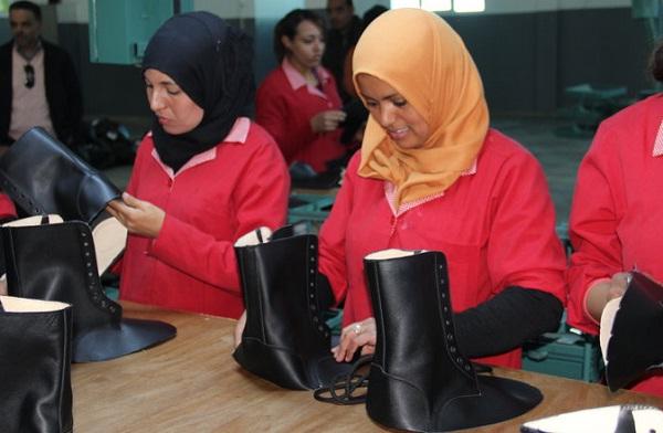 - Inauguration de l'Usine de chaussures TOSCANI de JBEL EL OUST-avec des perspectives de 2 000 emplois à créer-G