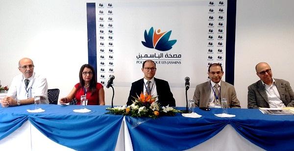 - Inauguration de la Polyclinique Les Jasmins au Centre Urbain Nord de Tunis -2