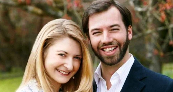 - Prince-Guillaume et Princesse-Stephanie- Tunisie-Tribune -2-600