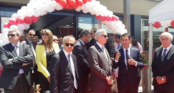 - François de la Gouyette-Mathieu Langeron-Total Tunisie inaugure sa nouvelle station-Les Jardins du Lac - 2