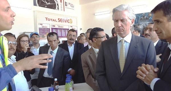 - François de la Gouyette-Mathieu Langeron-Total Tunisie inaugure sa nouvelle station-Les Jardins du Lac - 6