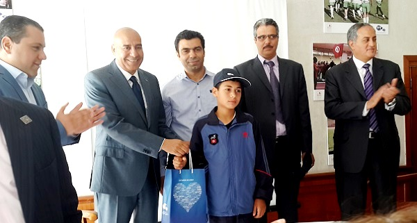- Les minimes de Jammel-gagnants du tournoi international de Rugby de Monaco-honorés par Tunisie Telecom-2