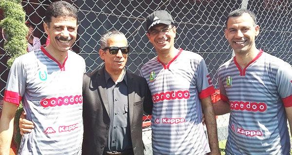 - Ooredoo Media Club  varie ses activités et organise un match de football face à des stars de foot