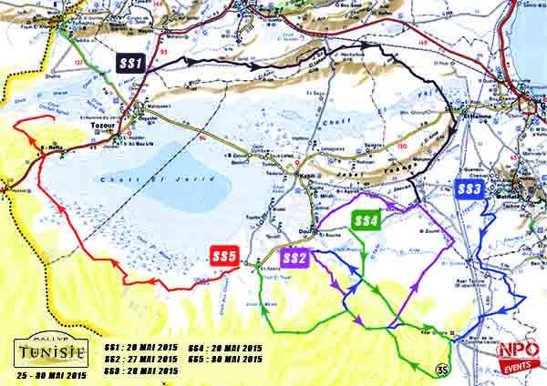 - Rallye de Tunisie 2015- le Top départ donné par Hend Chaouch-sous le slogan -Tunisie j'y vais - e
