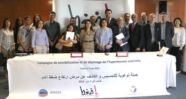 - STCCCV-SANOFI- campagne de dépistage et de sensibilisation à l'hypertension artérielle