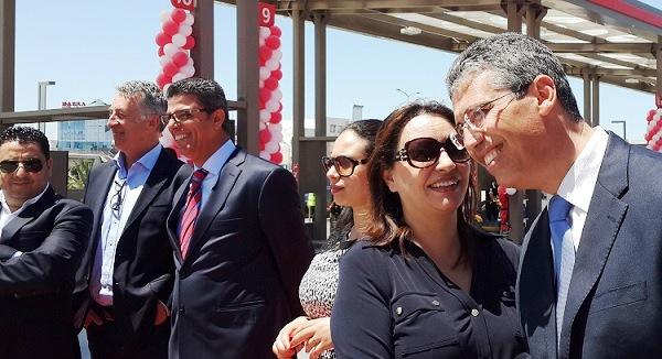 - Total Tunisie inaugure sa nouvelle station-Les Jardins du Lac - 2