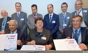 Airbus et Tunisair signent un partenariat en matière de formation en maintenance des A320 et A330