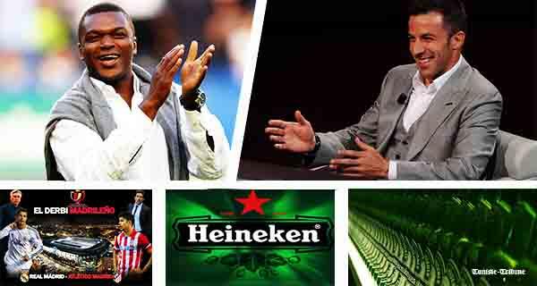 Alessandro Delpiero et Marcel Dessailly-à Tunis-Spécial-Champions League by Heineken-600