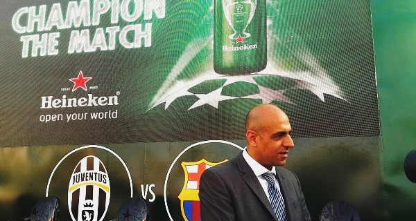 - Champions League-Heineken a invité-GATTUSO-SHEVCHENKO-suivre en direct la finale sur grand écran -5