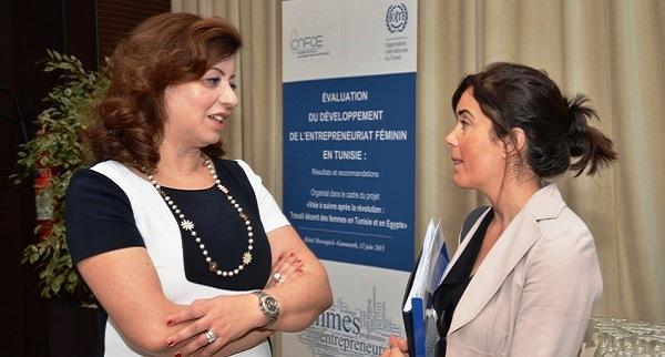 - L'OIT et la CNFCE stimulent l'entrepreneuriat féminin en Tunisie-7