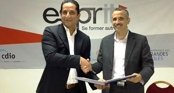 - Noomane Fehri inaugure Evertek Technology Lab-espace créé par Evertek et ESPRIT-dédié aux génies du futur -01 -1