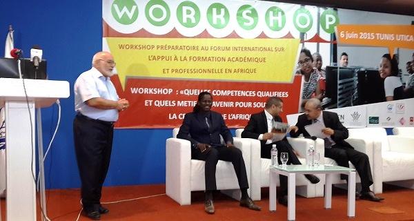 - Quelles compétences qualifiées et quels métiers d'avenir pour soutenir la croissance économique de l'Afrique