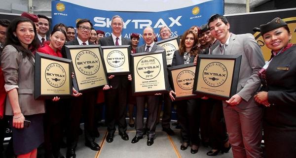 - Skytrax Awards 2015-Qatar Airways sacrée meilleure compagnie aérienne au monde 2