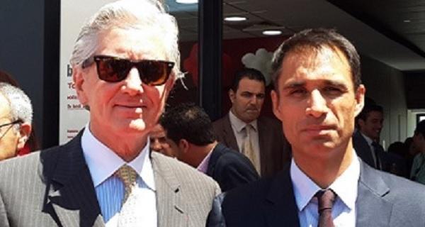 - Son excellence François Gouyette-Ambassadeur de France en Tunisie et et-Matthieu-Langeron, PDG de Total Tunisie