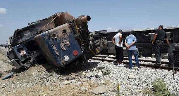 - Tunisie-Accident ferroviaire du Fahs-18 morts et 98 blessés-horreur, Panique et désarroi 03