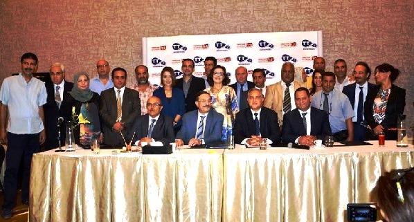 - Tunisie Télécom signe un partenariat avec à la FTDJ, la SNJT et l'ACIC pour l'essor de la presse  tunisienne-2