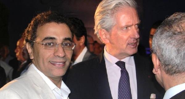 de G A D - Hassen Zargouni et S E François Gouyette-Ambassadeur de France en Tunisie