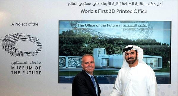 - Insolite-Dubaï va construire ses premiers bureaux-par impression 3D -b
