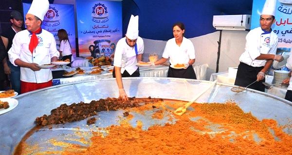 - Pril organise son-Iftar Géant-à Nabeul sous le signe du partage-M3a Pril Tahla Ellama -8