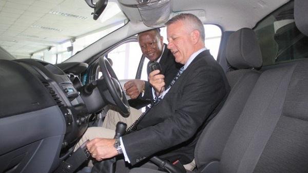 Jeff Nemeth-président et chef de la direction Ford Motor Company de la région d'Afrique subsaharienne-2
