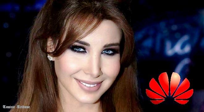 - Huawei-soutient-le-tourisme-tunisien-et–Nancy-Ajram-illumine-le-rêve-de-ses-fans-0