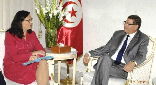 - ALECA-Cecilia-Malmström-Commissaire-européen-au-Commerce-annonce-le-départ-d'une-nouvelle-relation-Tunisie-UE-000