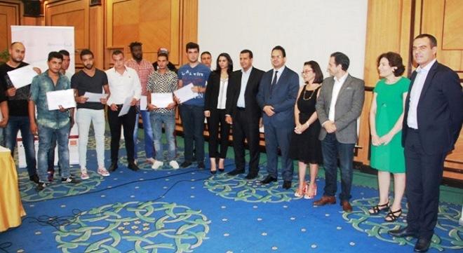 Lauréats qui vont intégrer Tunisie Câble-660