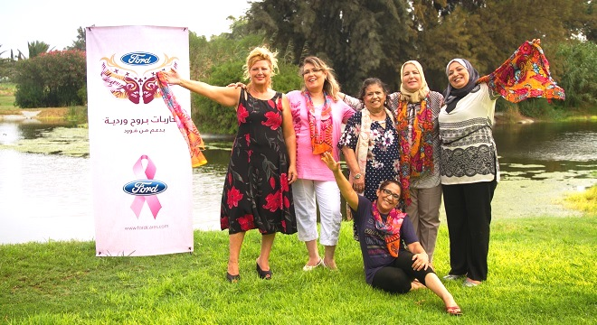 - Octobre-Rose-2015-Les Combattantes-en-Rose-de-Ford-transforment-le-cancer-du-sein-en-une-victoire