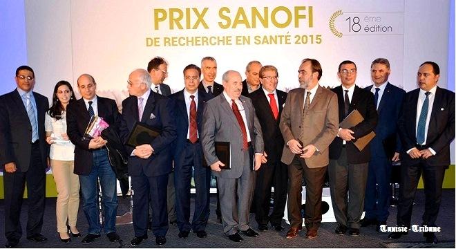 - Le-Prix-Sanofi-de-Recherche-en-Santé-attribué-au-Pr-Tarek-Ben-Othman-et-au-Dr-Leila-Sallemi