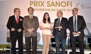 Le Prix Sanofi de Recherche en Santé attribué au Pr Tarek Ben Othman et au Dr Leila Sallemi lors d'une cérémonie riche en émotions