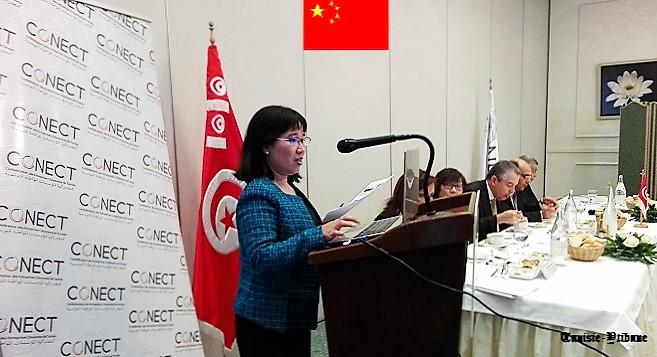 - Jing-Li-conseillère-économique-de-l'Ambassade-de-la-République-Populaire-de Chine-Tunisie-Tribune