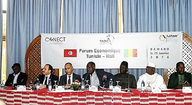 - TABC, CONECT-International-l'UPMI-mission-prospection-à Bamako-cinq ministres-maliens-à-l'ouverture-des-travaux-0